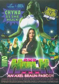 She-Hulk XXX: An Axel Braun Parody DVD Box Cover Image