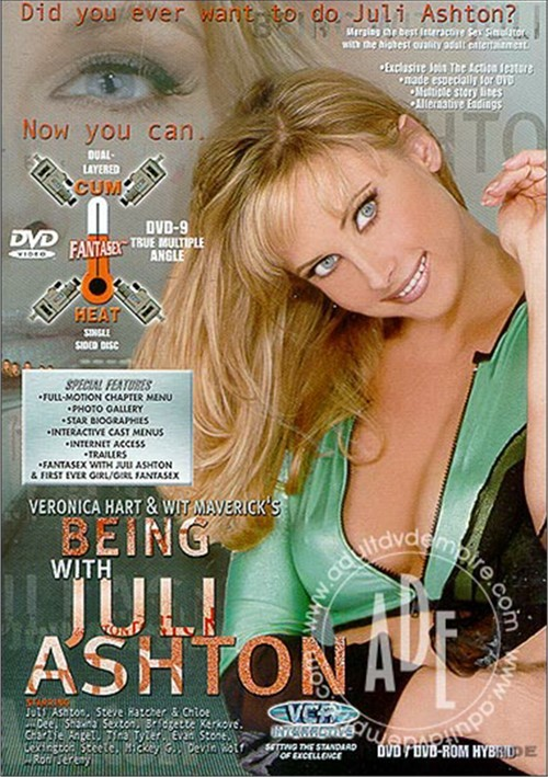 Being With Juli Ashton. VCA / Year: 2000 / 4.58 out of 5. Adult DVD. $18.99