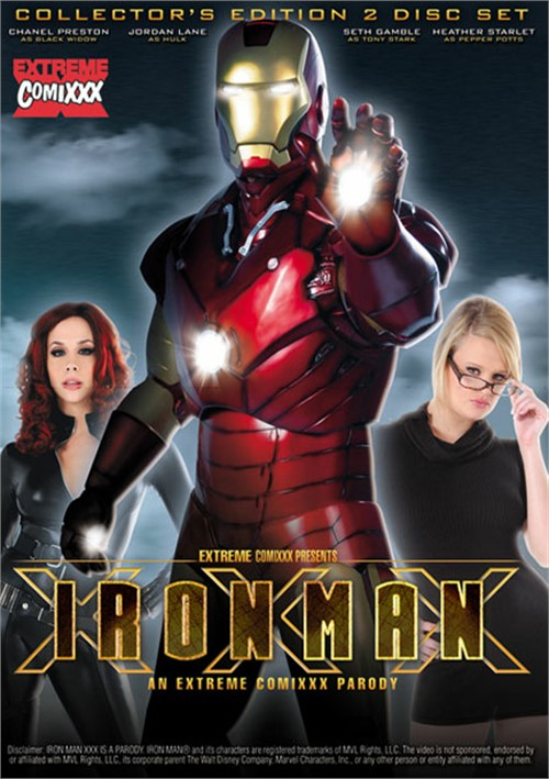 Iron Man XXX: An Extreme Comixxx Parody Porn Movie View BackWrite a Review