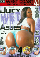 Juicy Wet Asses 4 Pack Porn Movie