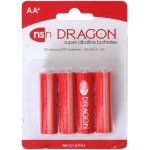 Dragon Alkaline Batteries - AA - 4 pack Sex Toy