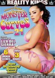 Monster Curves Vol. 21 DVD Box Cover Image