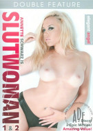 Annette Schwarz is Slutwoman 1 & 2 Adult DVD