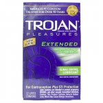 Trojan Extended Climax Control Lubricated - 12 Pack Sex Toy