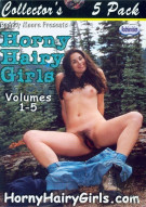 Horny Hairy Girls 5 Pack Porn Movie