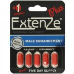 Extenze Plus Pill - 5 Count Sex Toy