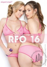 Real Female Orgasms 16 DVD Box Cover Image