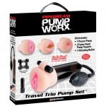 Pump Worx Travel Trio Set Sex Toy