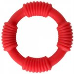 Adonis Silicone Ring: Hercules - Red Sex Toy