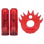 Crossbones - Double Flame Thrower - Red Sex Toy