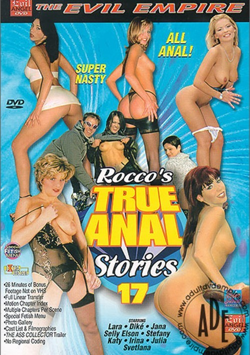 Rocco's True Anal Stories 17. Evil Angel / Year: 2002 / 3.75 out of 5. Adult ...