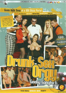 Drunk Sex Orgy: Geeky Gangfuck Porn Video