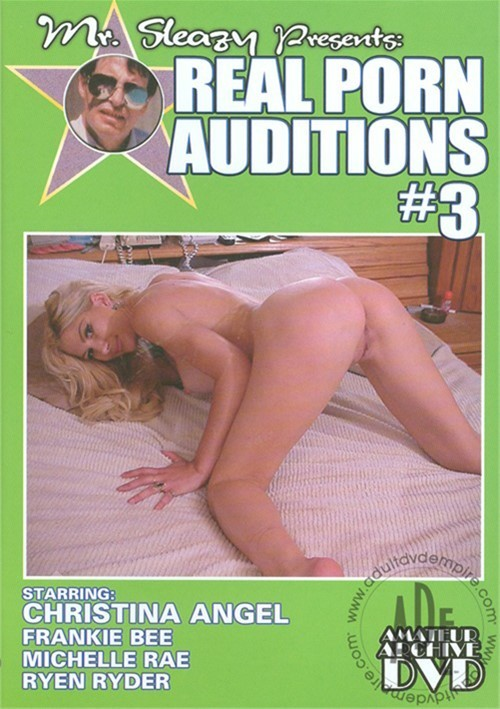 Real Porn Auditions #3. White Ghetto / Year: 2006. Adult DVDRental