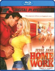 Jesse Jane Homework DVD Box Cover Image