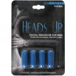 Heads Up: Sexual Enhancer for Men - 4 pill pack Sex Toy